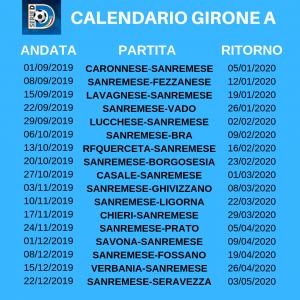 Calendario Filosofico 2020 Dove Si Compra.Calendario Sanremese Calcio